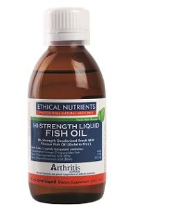 Hi Strength Fish Oil Liquid 170 ml - Fresh Mint