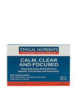 Calm clear