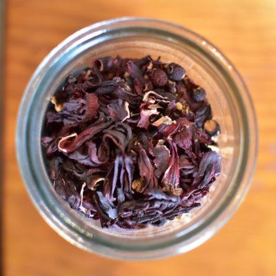 Berry Heart tea