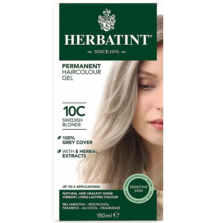 herbatint colour chart: Herbatint hair colour ash range 4c 10c the apothecary
