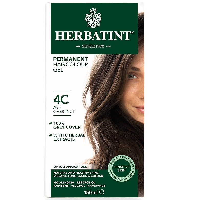 herbatint hair colour ash range 4c 10c the apothecary. Black Bedroom Furniture Sets. Home Design Ideas